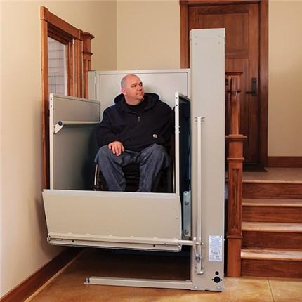 huntington beach wheelchair elevator vertical platform Seat vpl bruno macs porchSeat pl50
